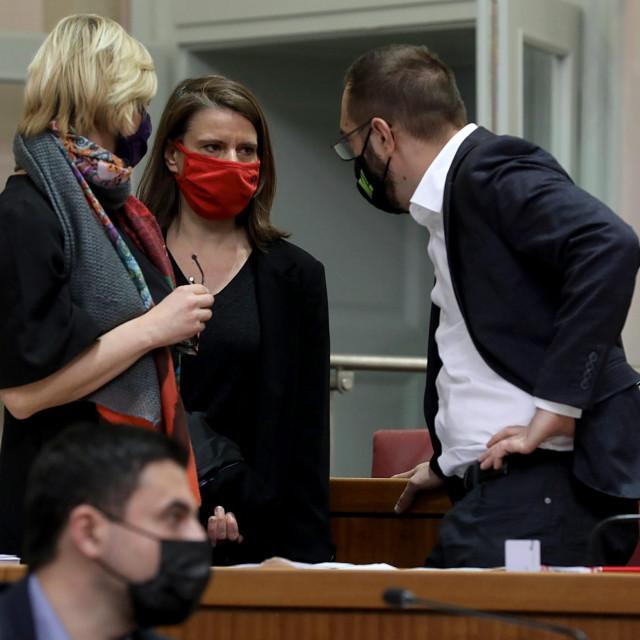 Katarina Peović, Tomislav Tomašević