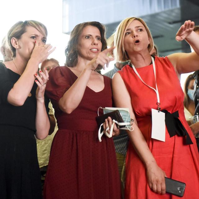Ivana Kekin, Sandra Benčić i Katarina Peović