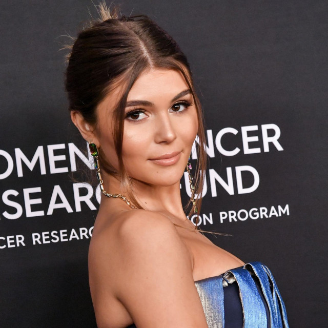 Mandatory Credit: Photo by Rob Latour/Shutterstock (10122482dl)<br /> Olivia Jade<br /> The Women's Cancer Research Fund hosts An Unforgettable Evening, Arrivals, Beverly Wilshire Hotel, Los Angeles, USA - 28 Feb 2019
