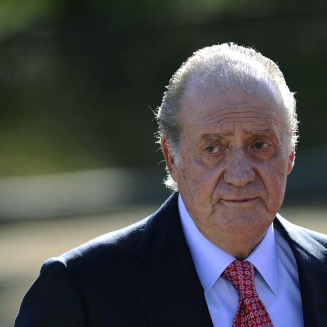 Bivši španjolski kralj Juan Carlos