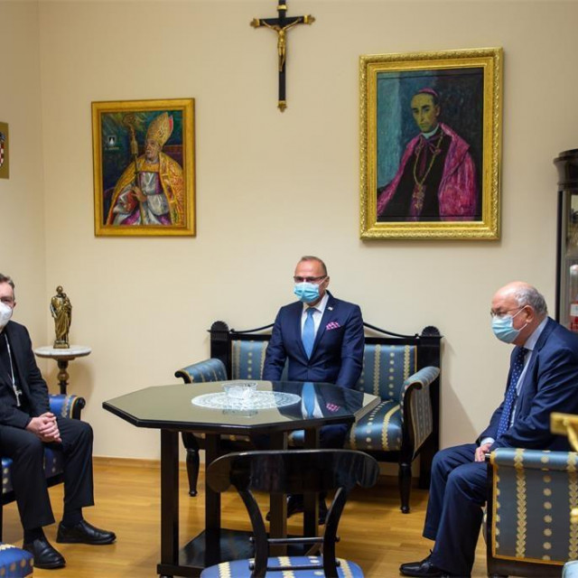 Josip Bozanić, Gordan Grlić Radman i Mate Granić