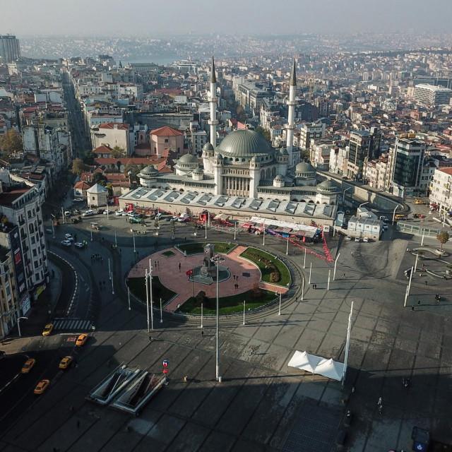 Istanbul tijekom subotnjeg policijskog sata