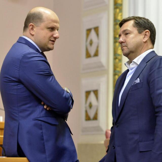 Ivan Ćelić (lijevo)