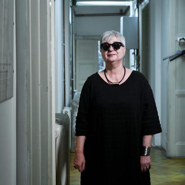 Neva Tolle, koordinatorica Autonomne ženske kuće Zagreb