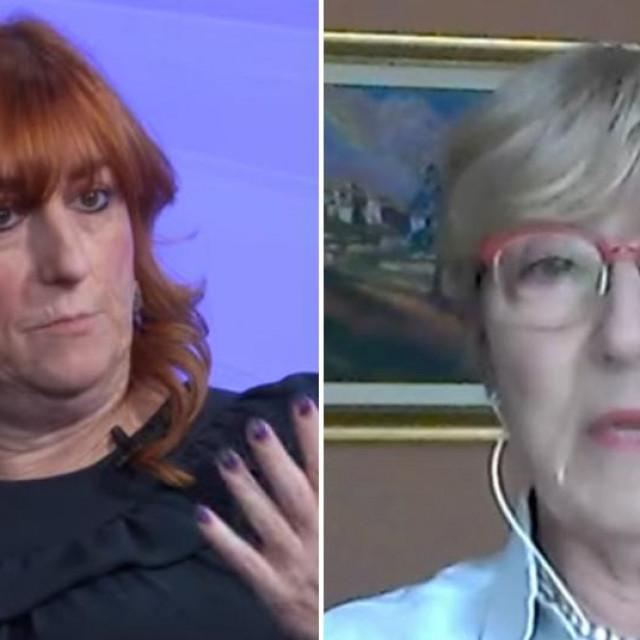 Dr. Mirela Marković i dr. Slava Posenjak Pavišić