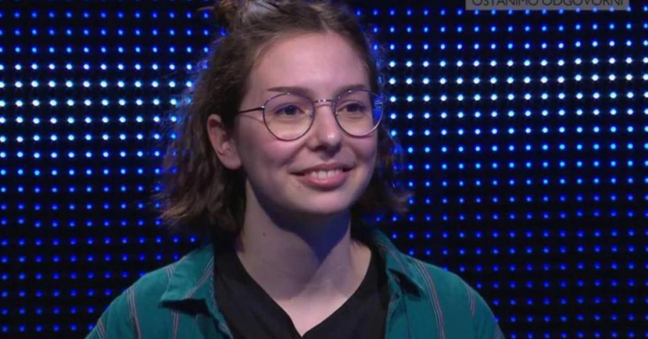 Jutarnji list - Mlada Zadranka (18) briljirala u Potjeri pa skromno  poručila: 'Imala sam puno, puno sreće'