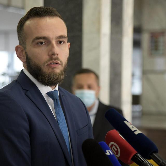 Ministar rada, mirovinskoga sustava, obitelji i socijalne politike Josip Aladrović