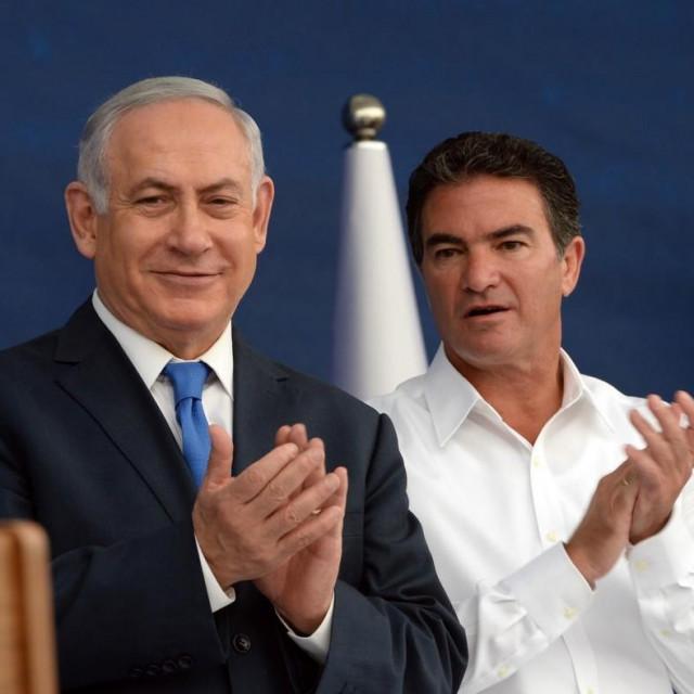 Benjamin Netanyahu i Yossi Cohen