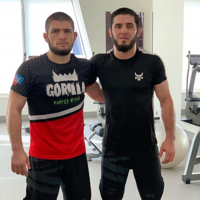 Khabib Nurmagomedov i Islam Makhachev
