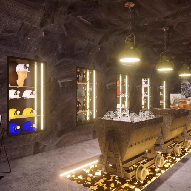 Podzemni grad Labin, simulacija, Level 52