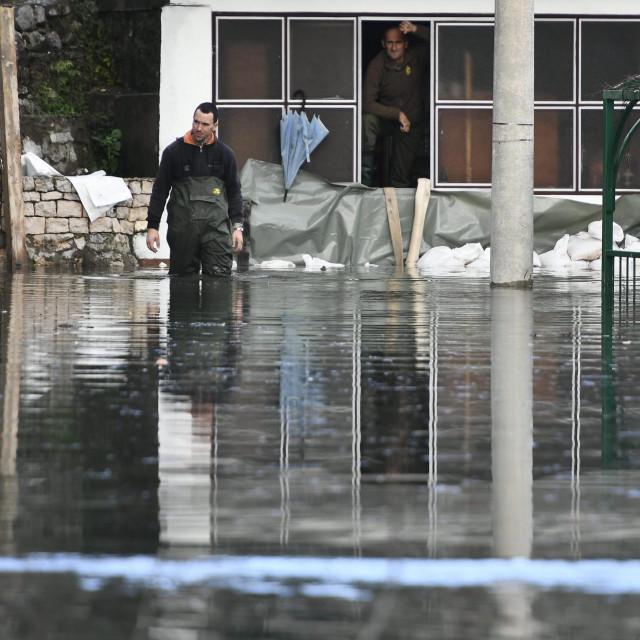 Poplava na području Vrgorca