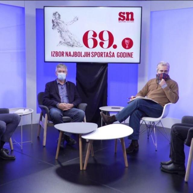 Slijeva nadesno: Gordan Kožulj, Ivan Veštić, Dean Bauer i Sanda Čorak