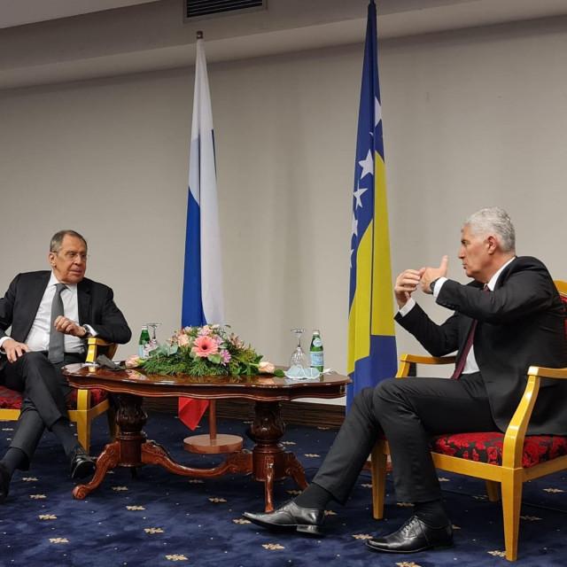 Sergej Lavrov i Dragan Čović