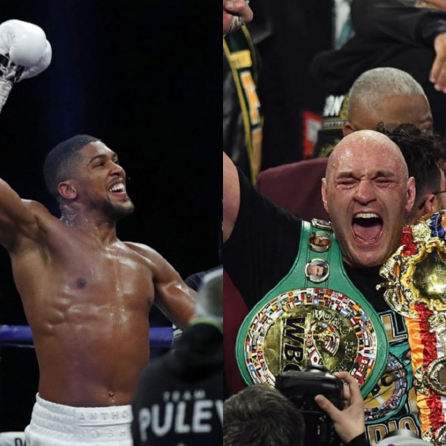 Anthony Joshua i Tyson Fury