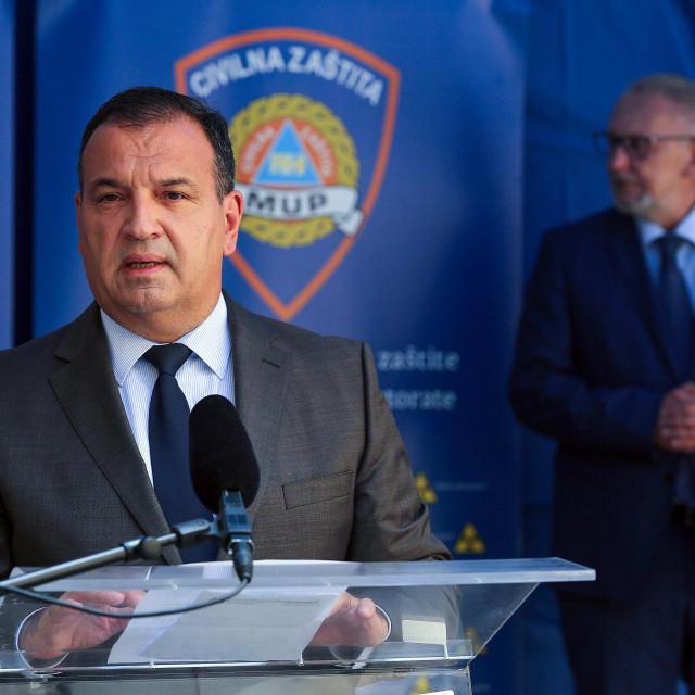 Vili Beroš, Davor Božinović