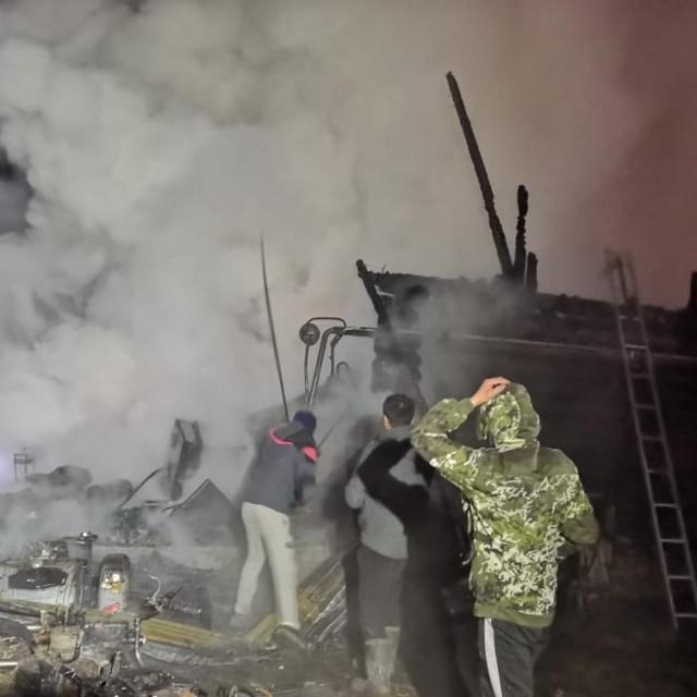 Požar u Baškortostanu