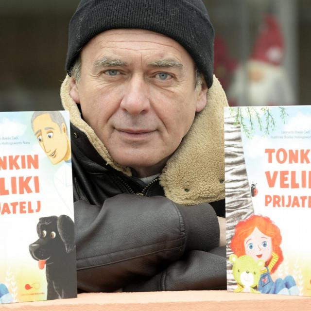 Leonardo Baksa Čeči, autor slikovnice 'Tonkin veliki prijatelj'