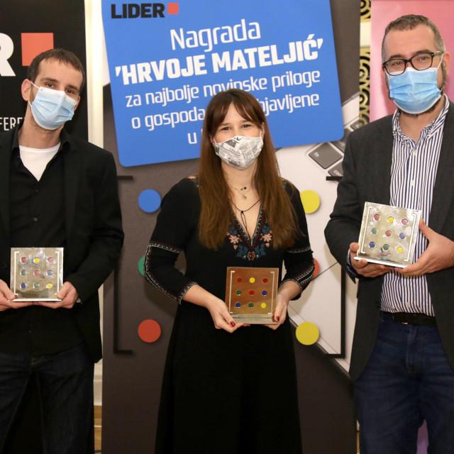 Dobitnici nagrade 'Hrvoje Mateljić'