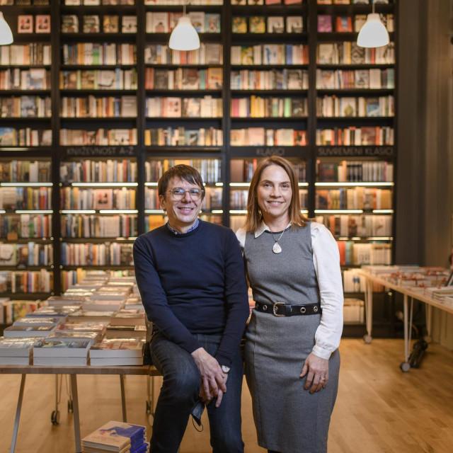 Željeli smo, s jedne strane, knjižaru koja će biti usmjerena prema dobrom izboru književnosti i publicistike i gdje rade ljudi koji dobro poznaju književnost
