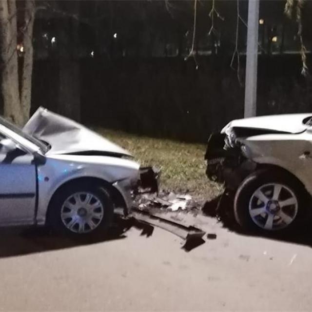 Prometna nesreća u Vinkovcima