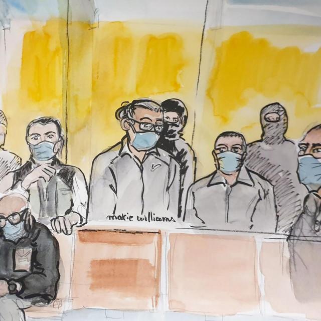Skica sa suđenja
