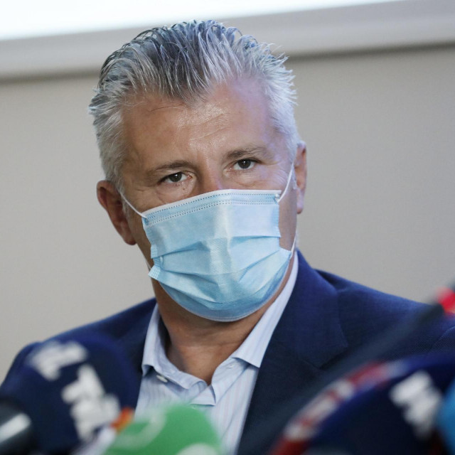 Predsjednik HNS-a Davor Šuker