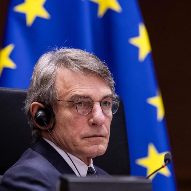 Predsjednik Europskog parlamenta David Sassoli