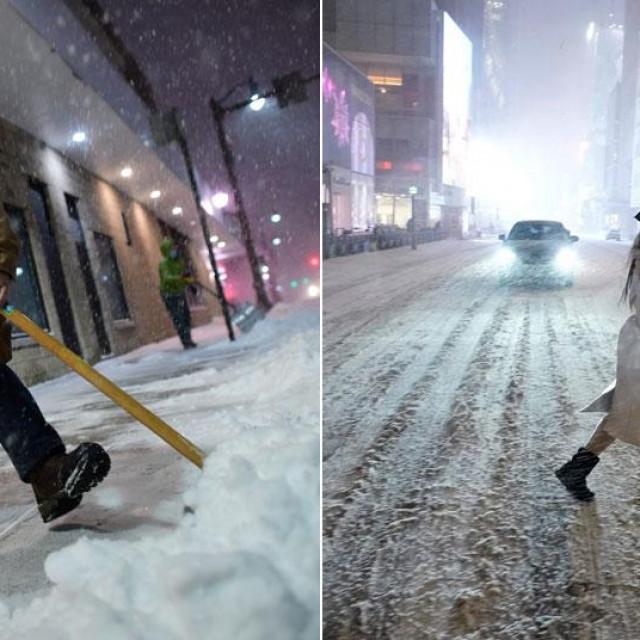 Snježna oluja u SAD-u