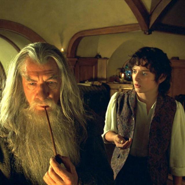 Ian McKellen i Elijah Wood u Gospodaru prstenova