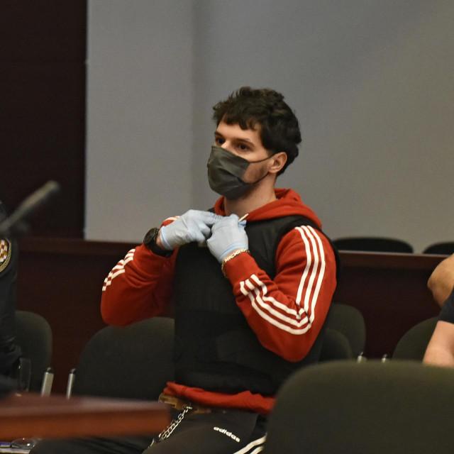 Filip Zavadlav u sudnici