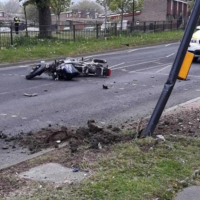 Srušio lopove s motora
