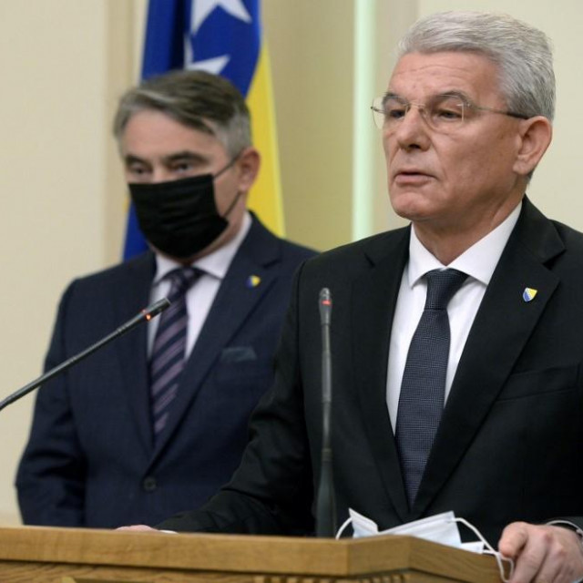Željko Komšić i Šefik Džaferović