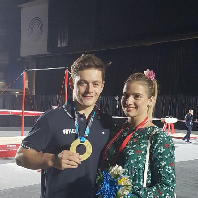 Tin Srbić i Ana Đerek