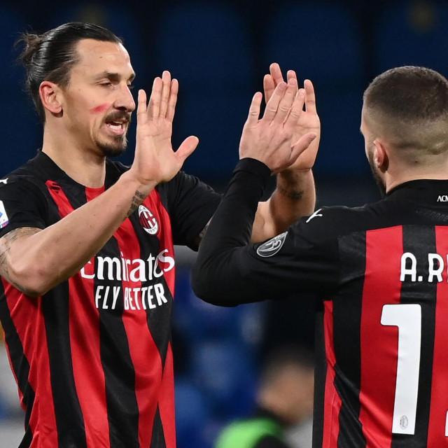 Ibrahimović i Rebić - udarni Milanov napadački tandem kada su obojica zdravi i spremni