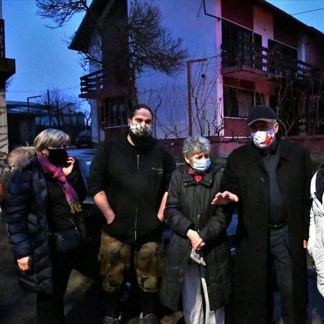 Milan Bandić s obiteljima u Brezovici