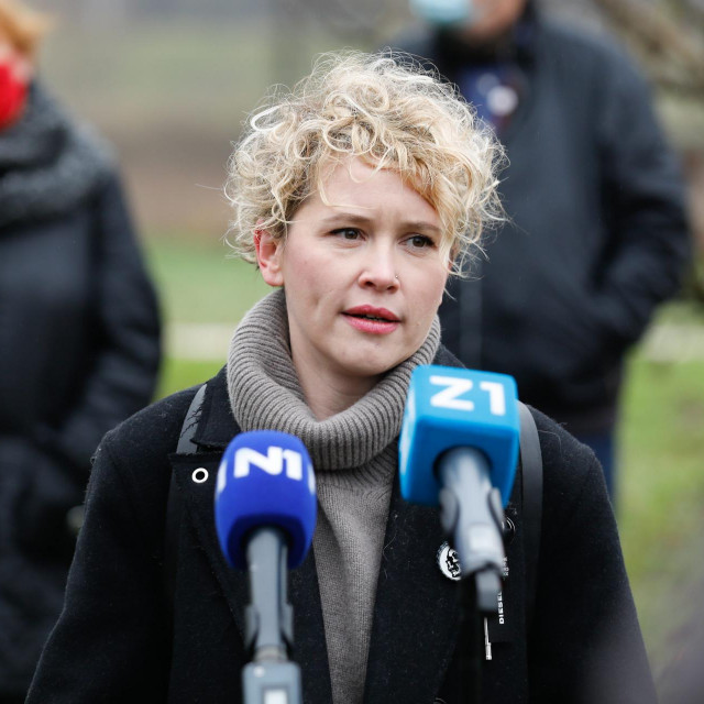 Ivana Kekin, predsjednica Nove ljevice