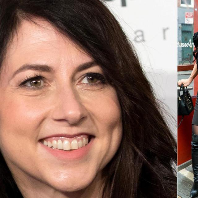 Mackenzie Scott, Jeff Bezos i Lauren Sanchez