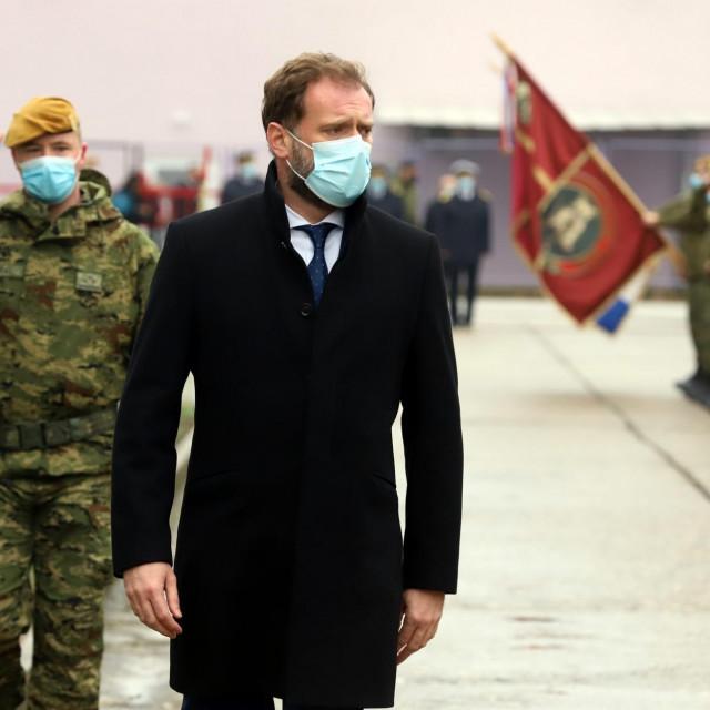 Ministar obrane Mario Banožić