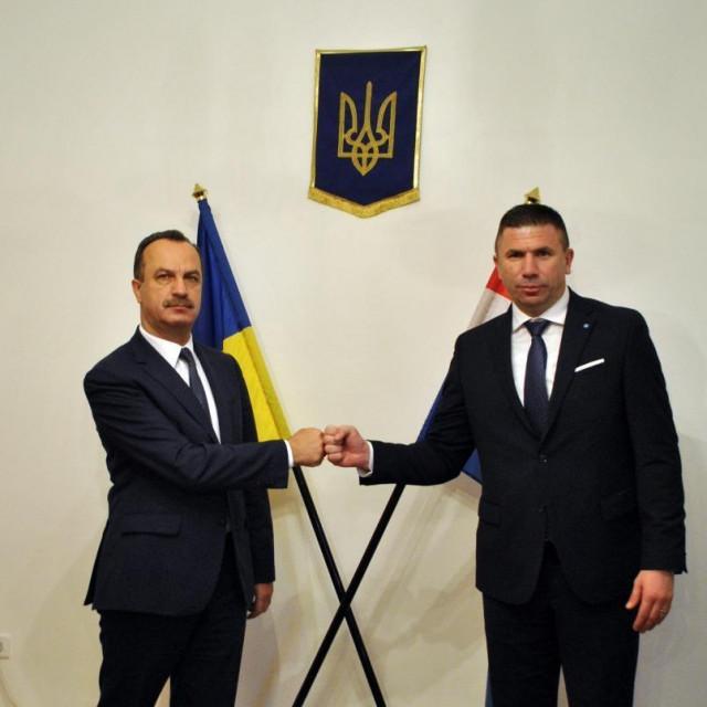Ivica Pirić s ukrajinskim veleposlanikom