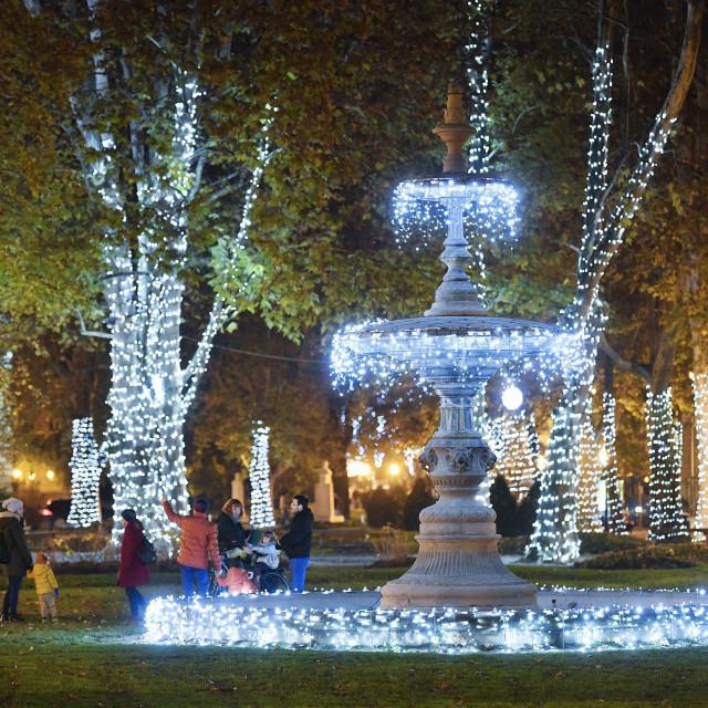 Advent Zagreb - Park Zrinjevac