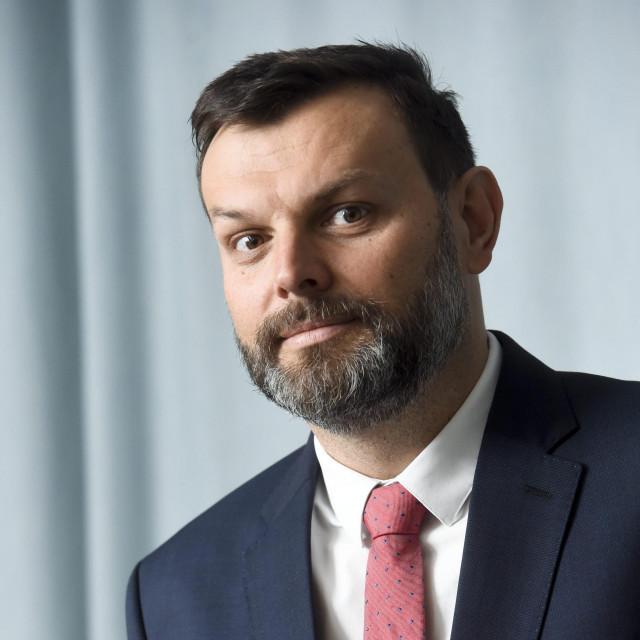 Viktor Pavlinić, predsjednik uprave TELE2 i Telemach-a.<br />