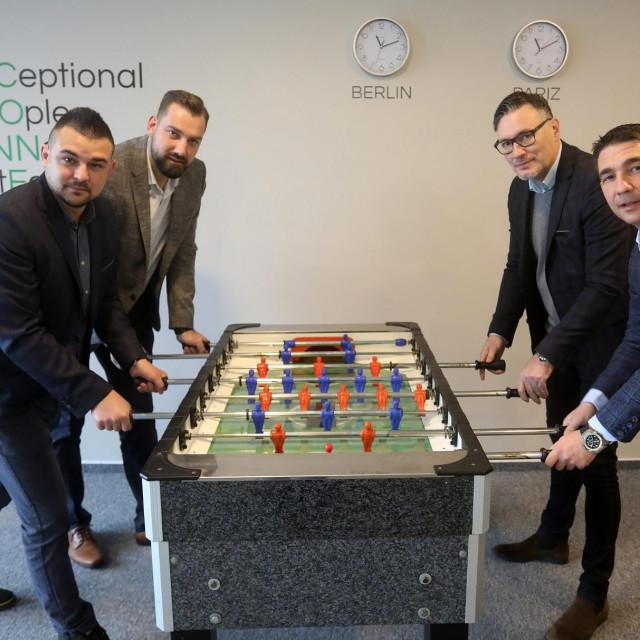 Matija Grabar, Ivica Mađura, Tomislav Bajić i Marko Dagelić imaju velike planove u Hrvatskoj i SAD-u