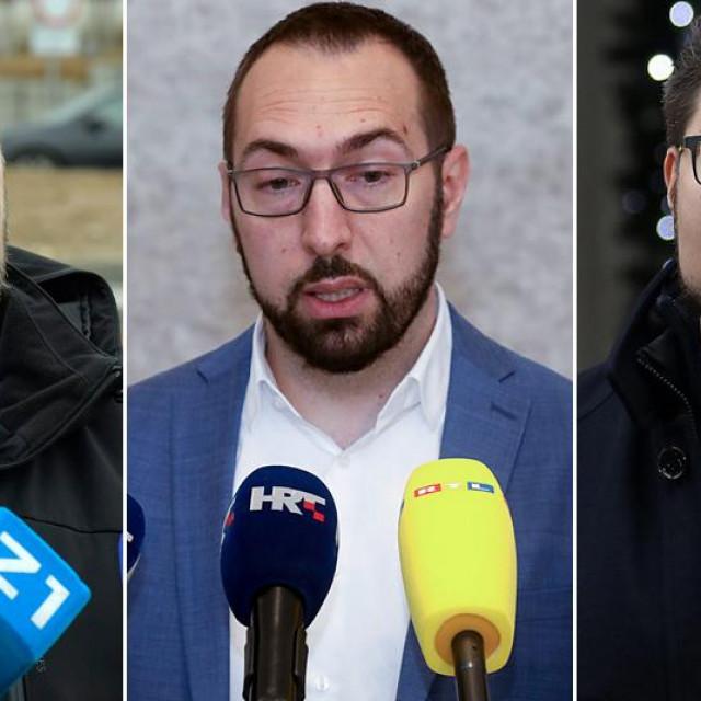 Gordan Maras, Tomislav Tomašević i Peđa Grbin