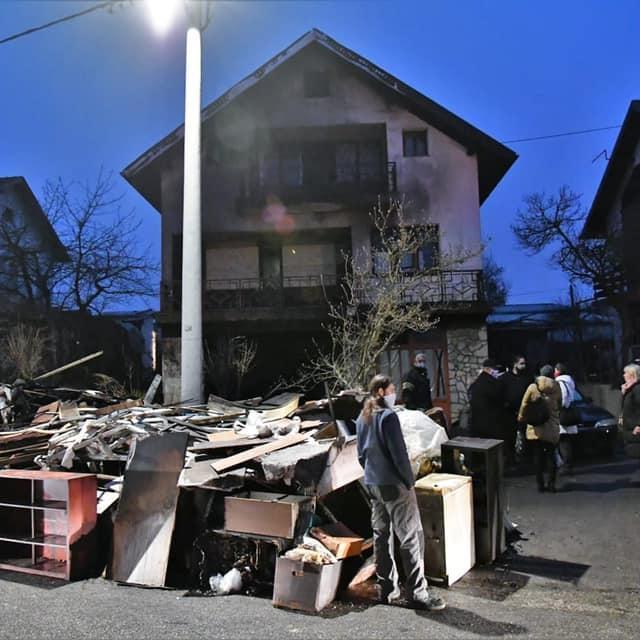 Kuća dizajnerice Mirne Mihoković nastradala u požaru