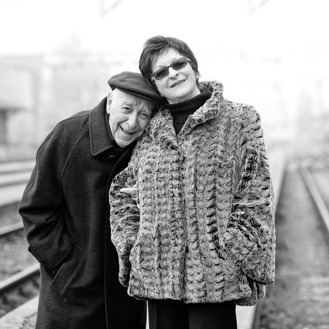 Pero Kvrgić i Lela Margitić