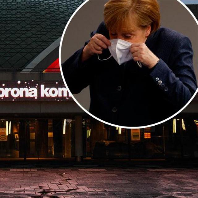 Opera u Dortmundu (glavna fotografija), Angela Merkel (u krugu)