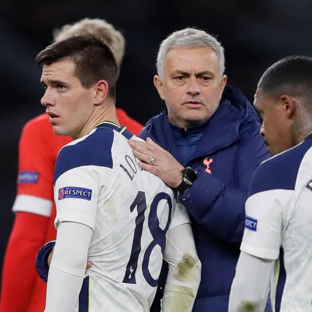 Mourinho i Lo Celso