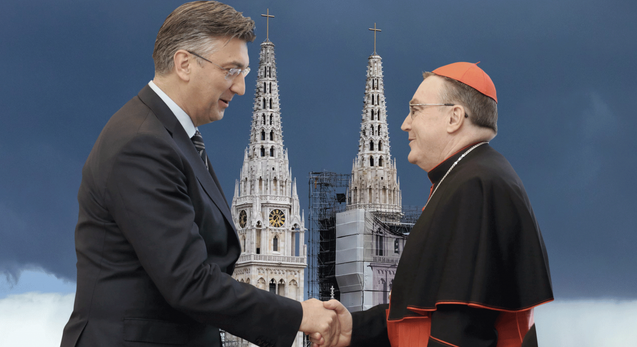 Jutarnji list - Božićna čestitka predsjednika Vlade Andreja Plenkovića  kardinalu Josipu Bozaniću