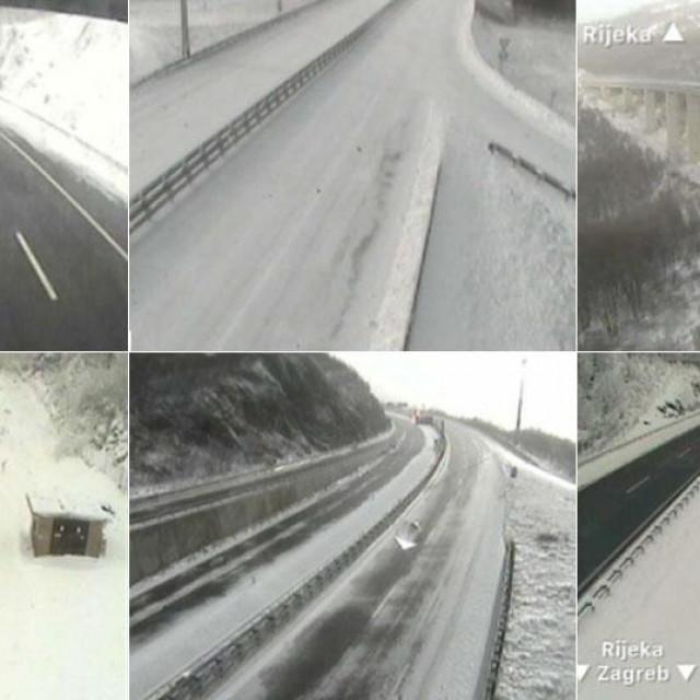 Snijeg na autocesti
