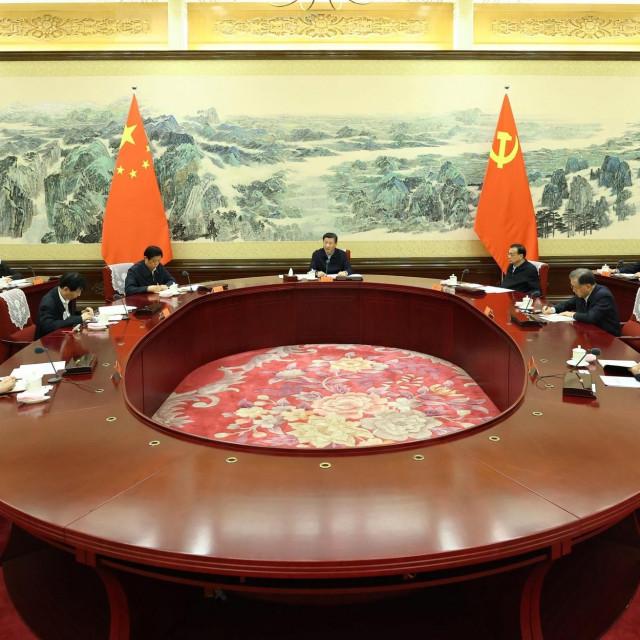 Sjednica centralnog komiteta kojom je predsjedavao Xi Jinping